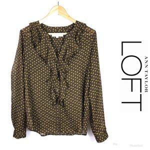 LIKE NEW ***ANN TAYLOR*** LOFT Top Size S $89!